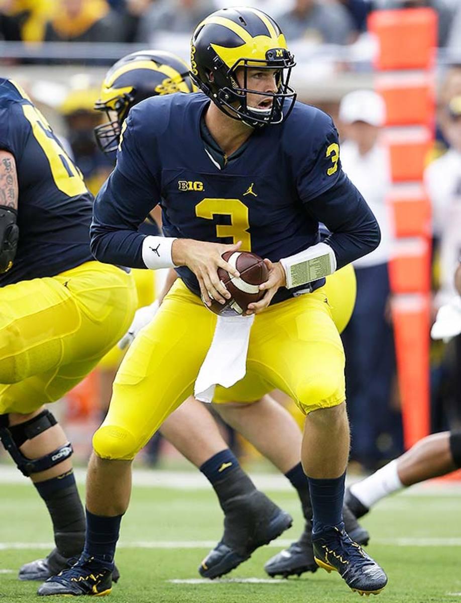 College Football Uniforms: Michigan Wolverines