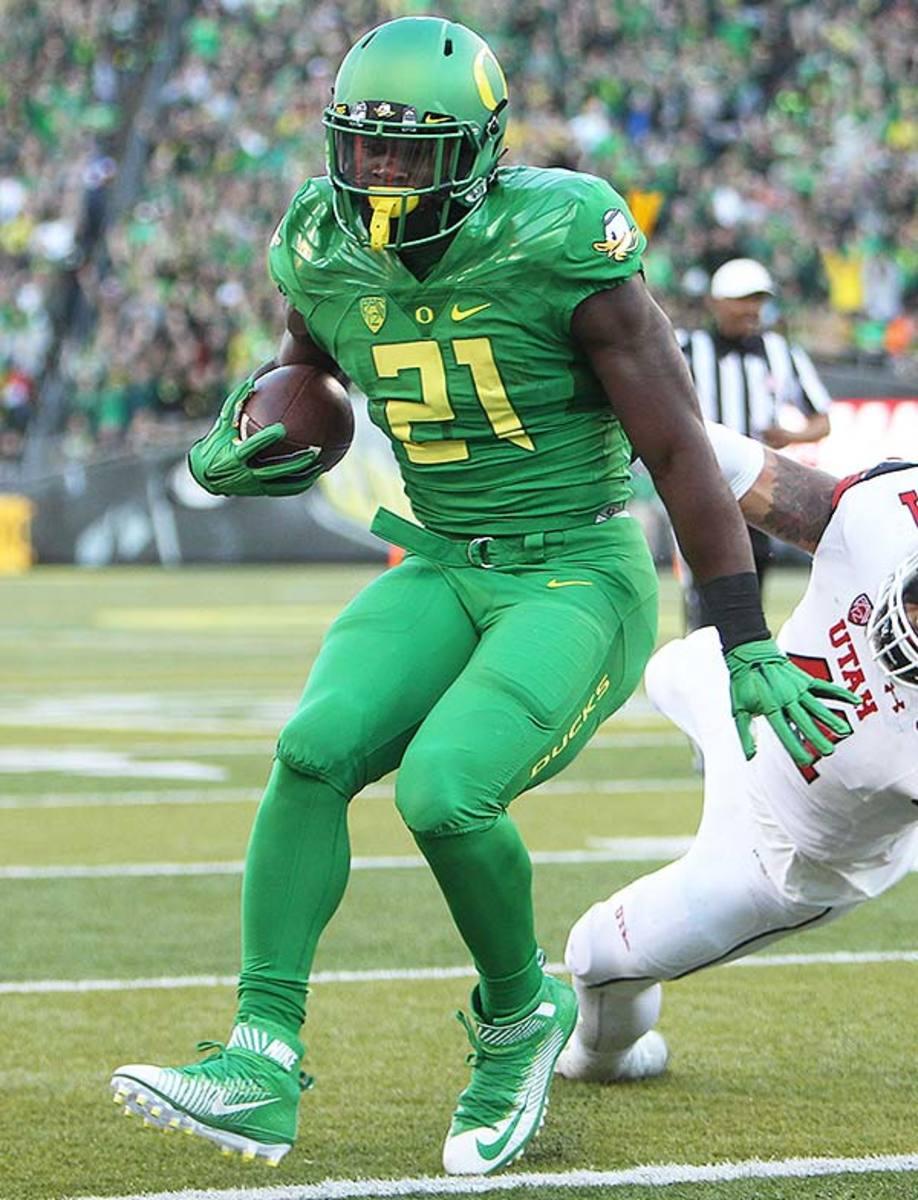 College Football Uniforms: Oregon Ducks