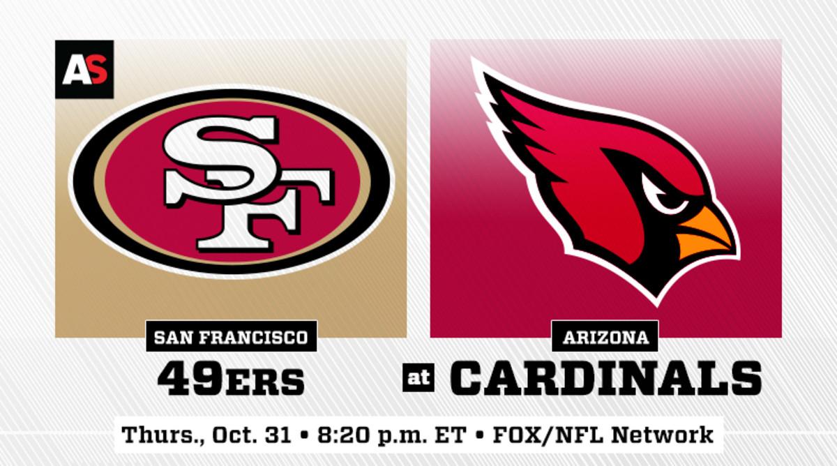 Thursday Night Football: San Francisco 49ers vs. Arizona Cardinals Prediction and Preview
