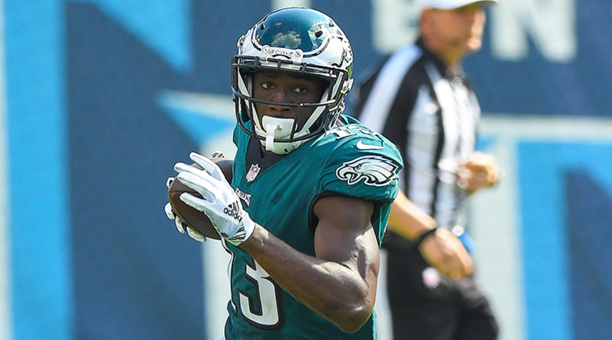 Wide Receiver Rankings Week 3: Nelson Agholor