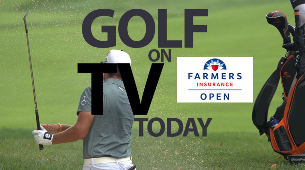 Golf on TV Today (Saturday, Jan. 25): Farmers Insurance Open
