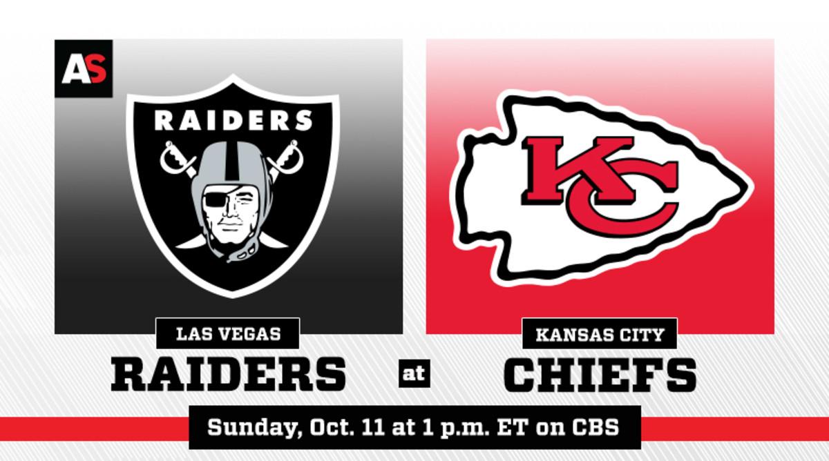 Las Vegas Raiders vs. Kansas City Chiefs Prediction and Preview