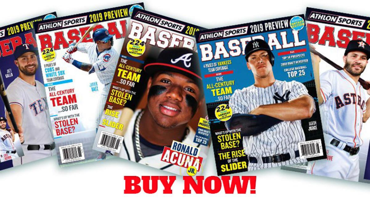 Fantasy Baseball Magazines 2019 MLB Preview