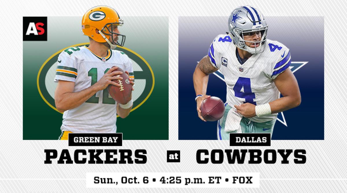 Green Bay Packers vs. Dallas Cowboys Prediction and Preview