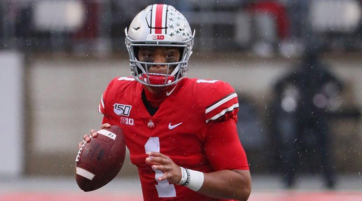 Big Ten Football: Justin Fields, Ohio State Buckeyes Football