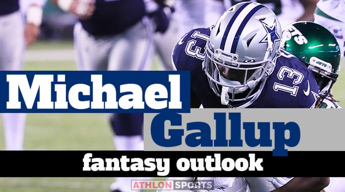 Michael Gallup: Fantasy Outlook 2020