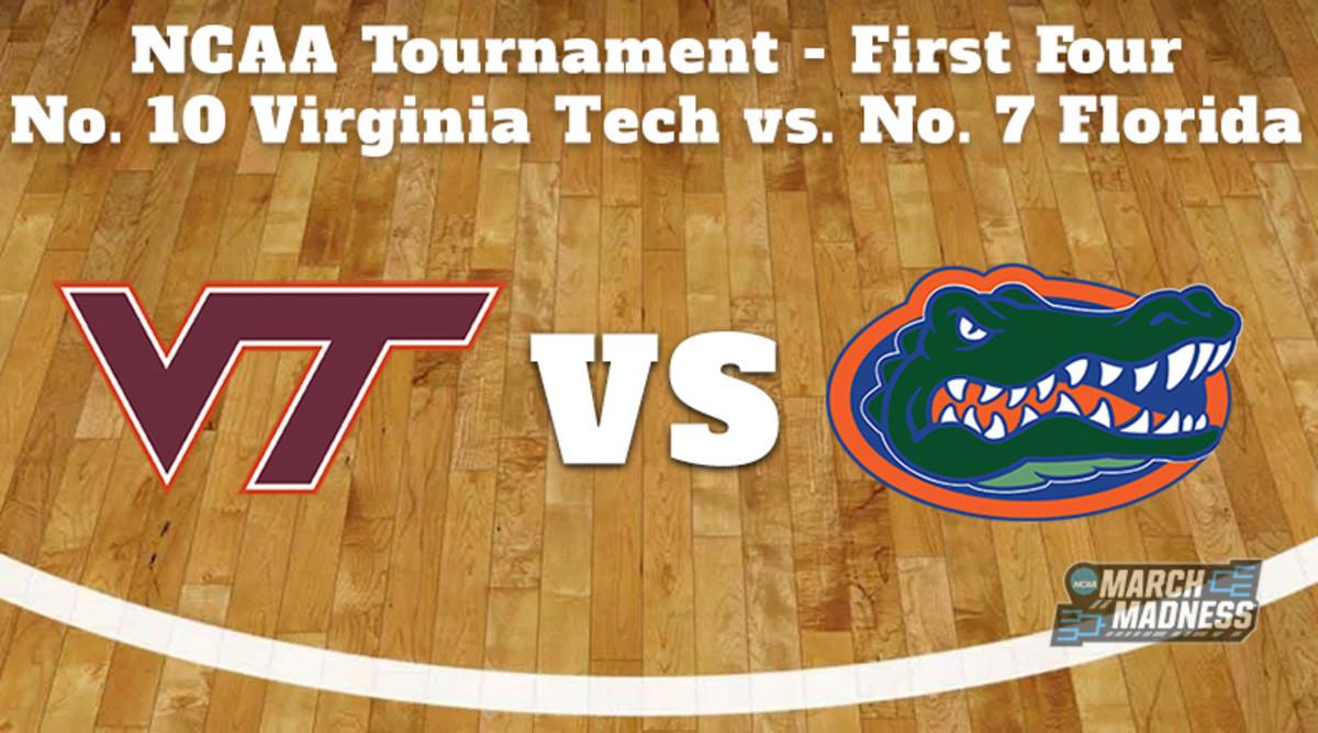 Virginia Tech Hokies vs. Florida Gators Prediction: NCAA Tournament First Round Preview