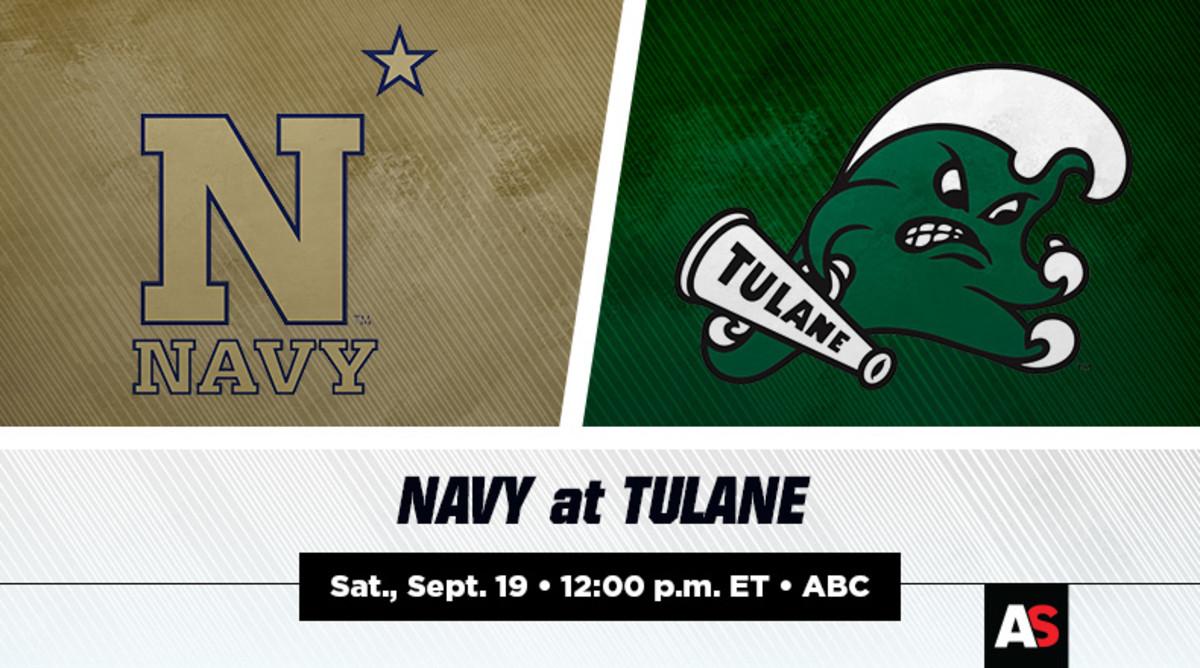Navy vs. Tulane Football Prediction and Preview