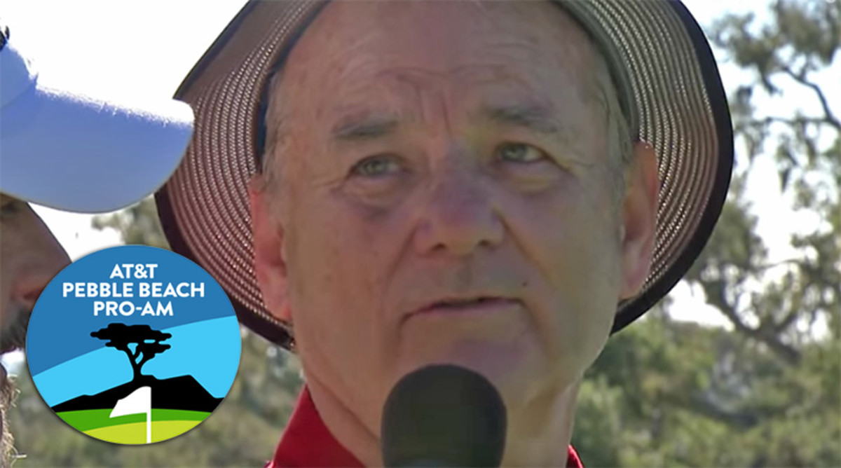 Bill Murray: Celebrities at the AT&T Pebble Beach Pro-Am