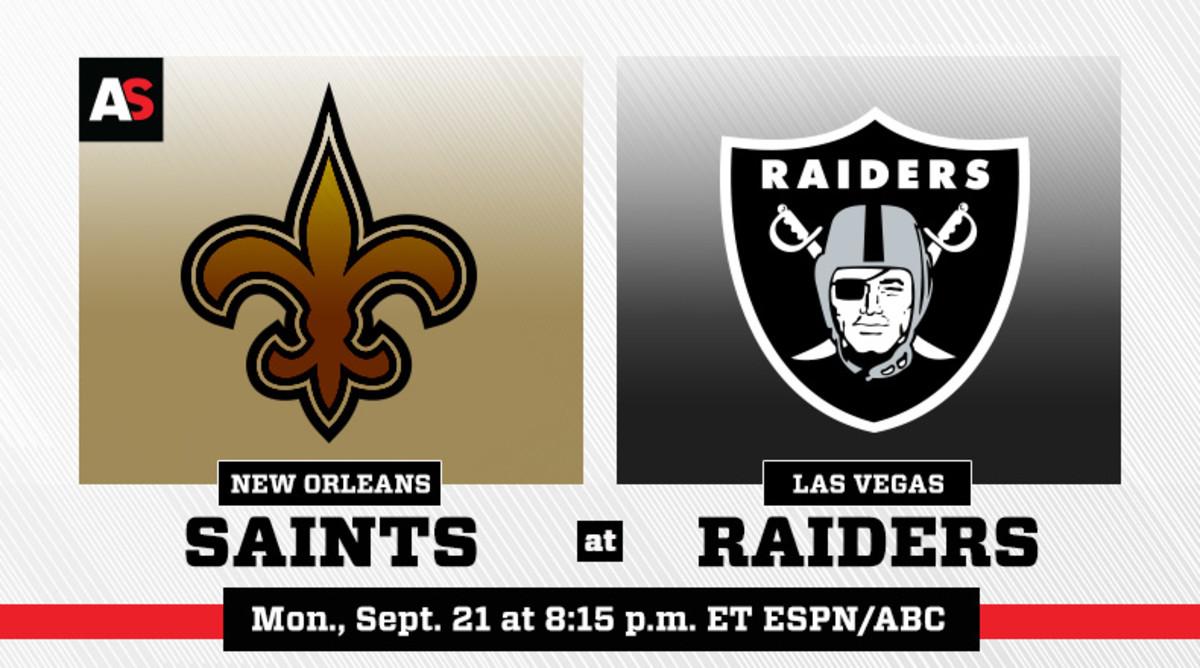 Monday Night Football: New Orleans Saints vs. Las Vegas Raiders Prediction and Preview