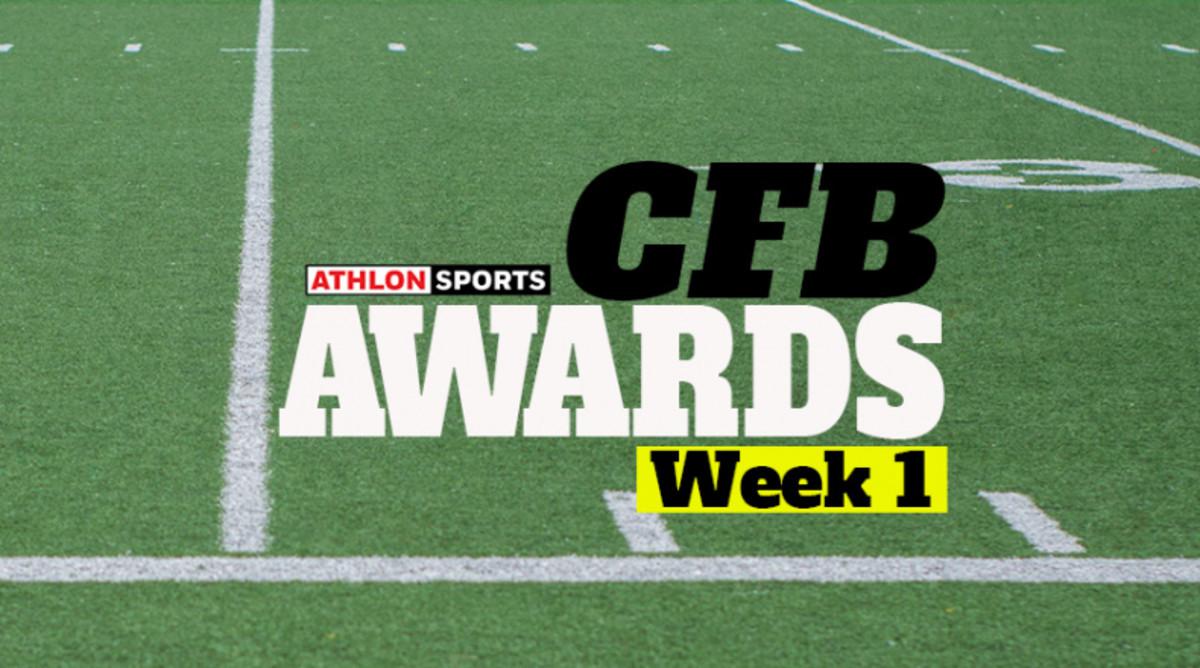 Athlon: College Football Week 1 Awards