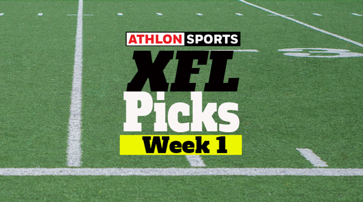 XFL Predictions: Week 1 Picks for Every Game