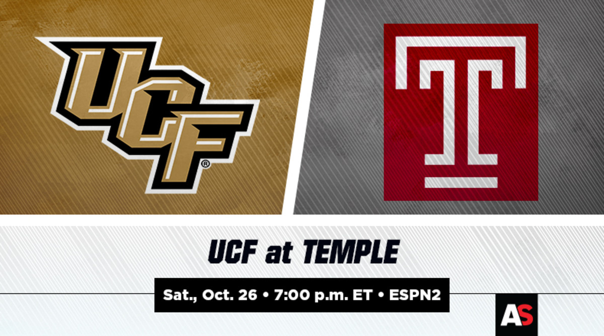 UCF vs. Temple Football Prediction and Preview