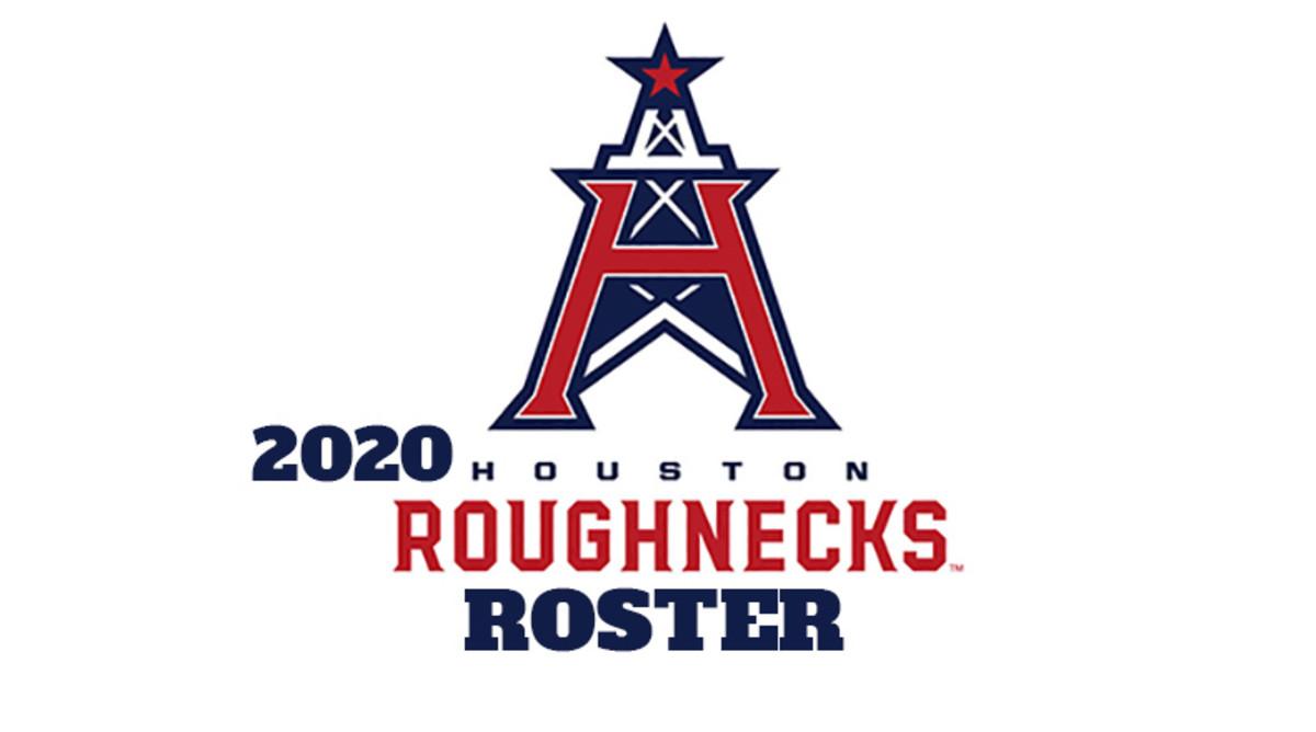 Houston Roughnecks 2020 Roster (XFL Football)
