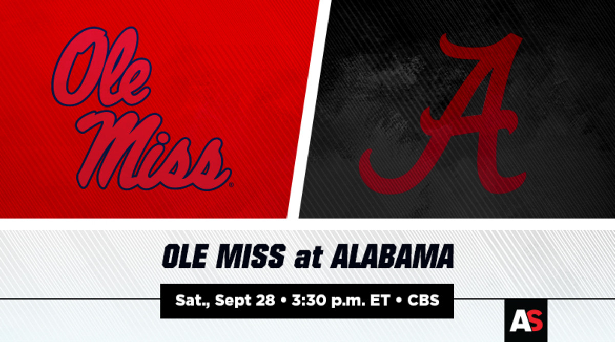Ole Miss vs. Alabama Football Prediction and Preview