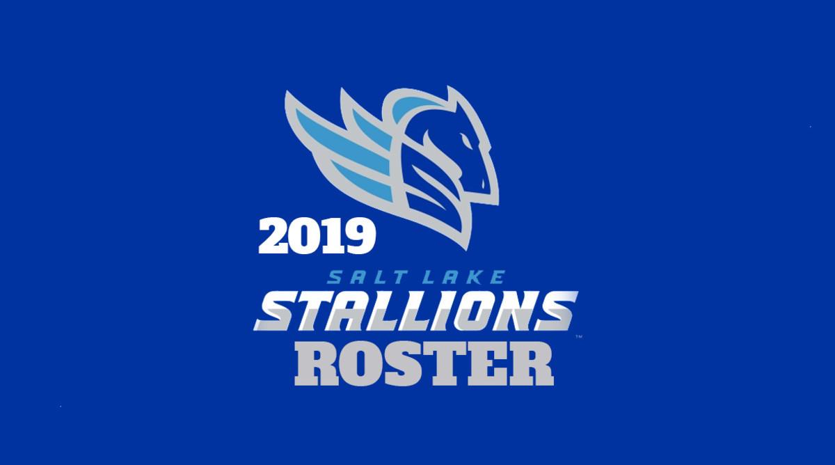 Salt Lake Stallions Roster (AAF Football)