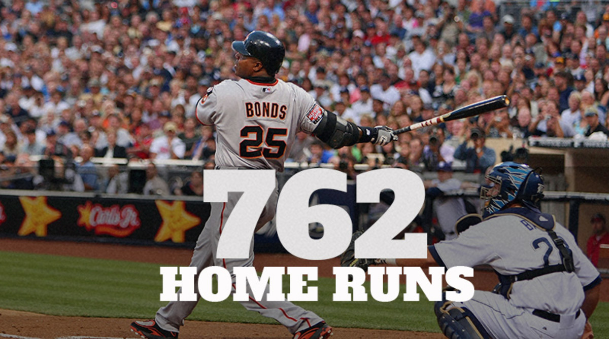 Barry Bonds tops the All-Time MLB Home Runs List with 762