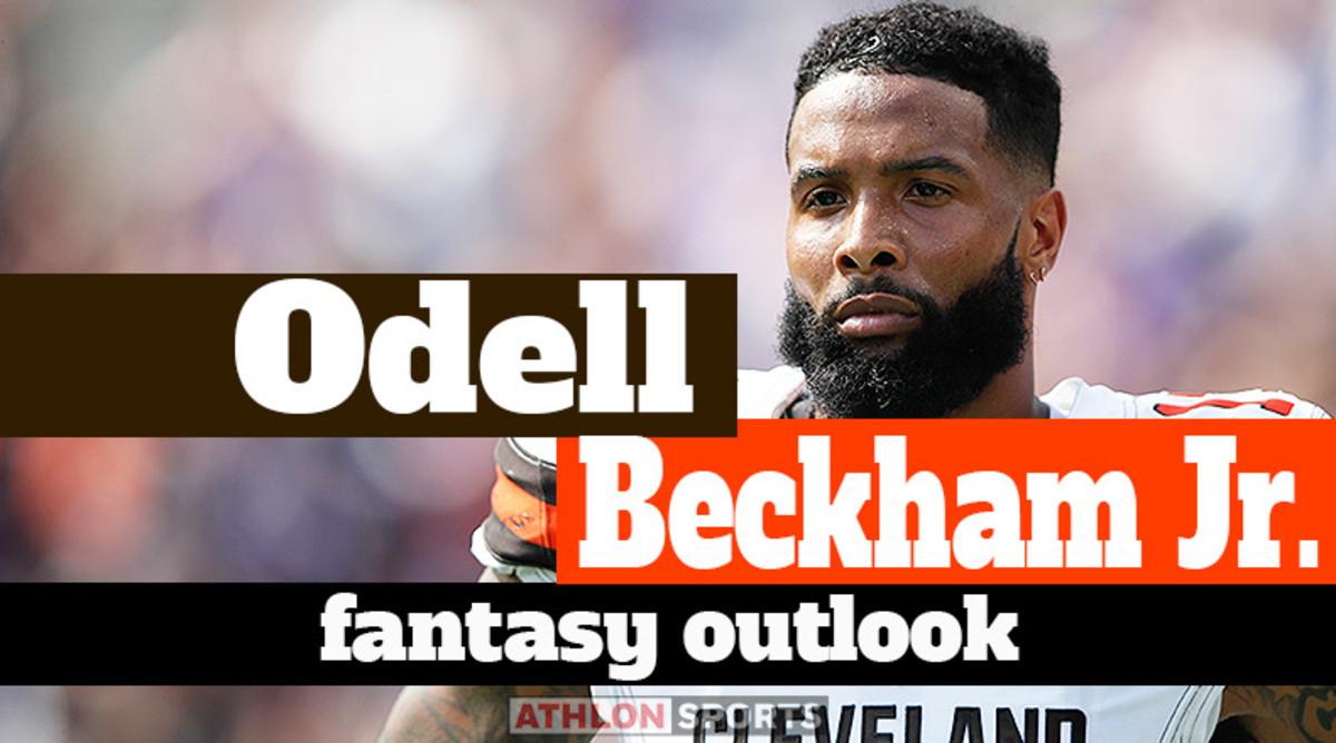 Odell Beckham Jr.: Fantasy Outlook 2020