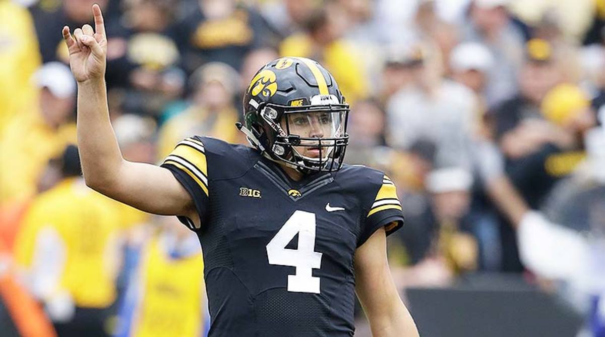 NFL Scouting Combine Watch: Nate Stanley