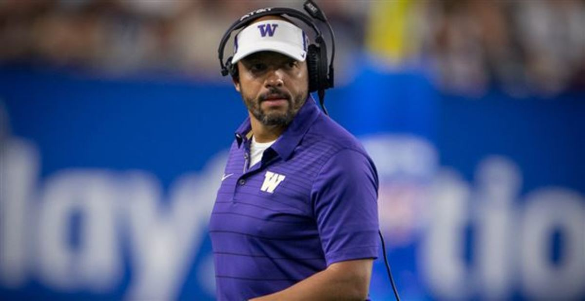 Washington Football: Jimmy Lake is an Up-and-Coming Star of the Coaching Ranks