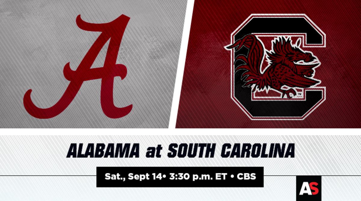 Alabama vs. South Carolina Football Prediction and Preview