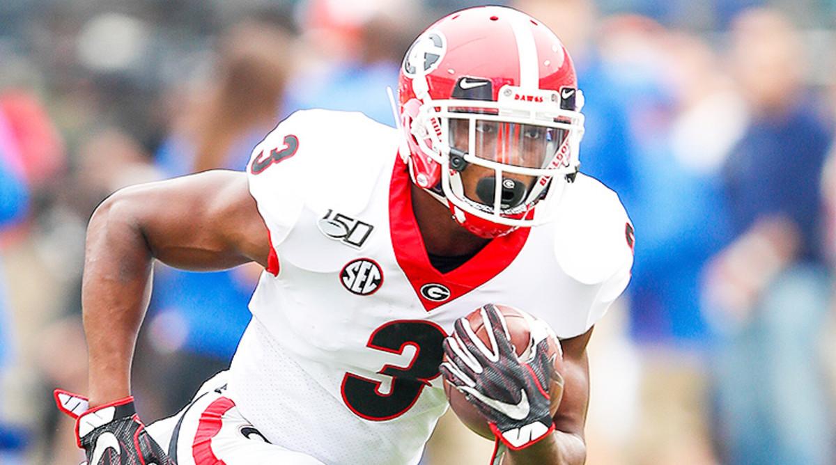 Zamir White, Georgia Bulldogs Football