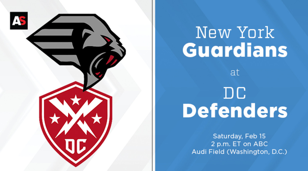 New York Guardians vs. DC Defenders Prediction and Preview (XFL Football)