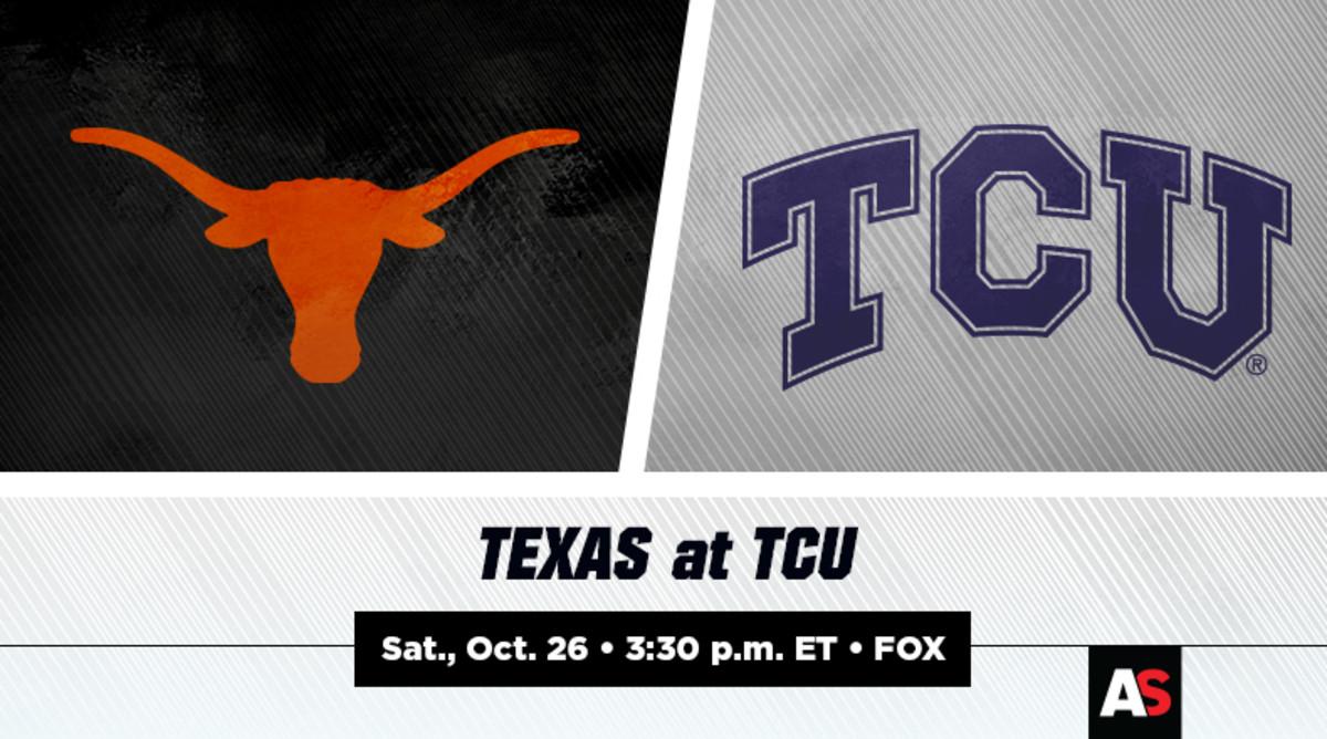 Texas vs. TCU Football Prediction and Preview