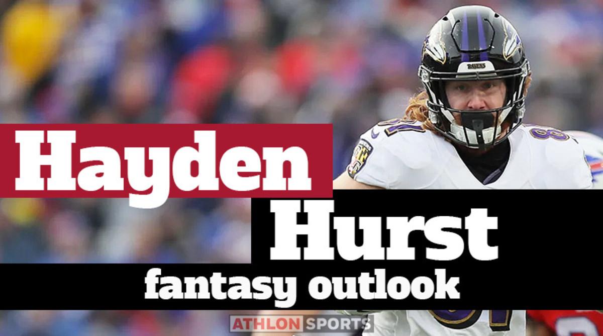 Hayden Hurst: Fantasy Outlook 2020