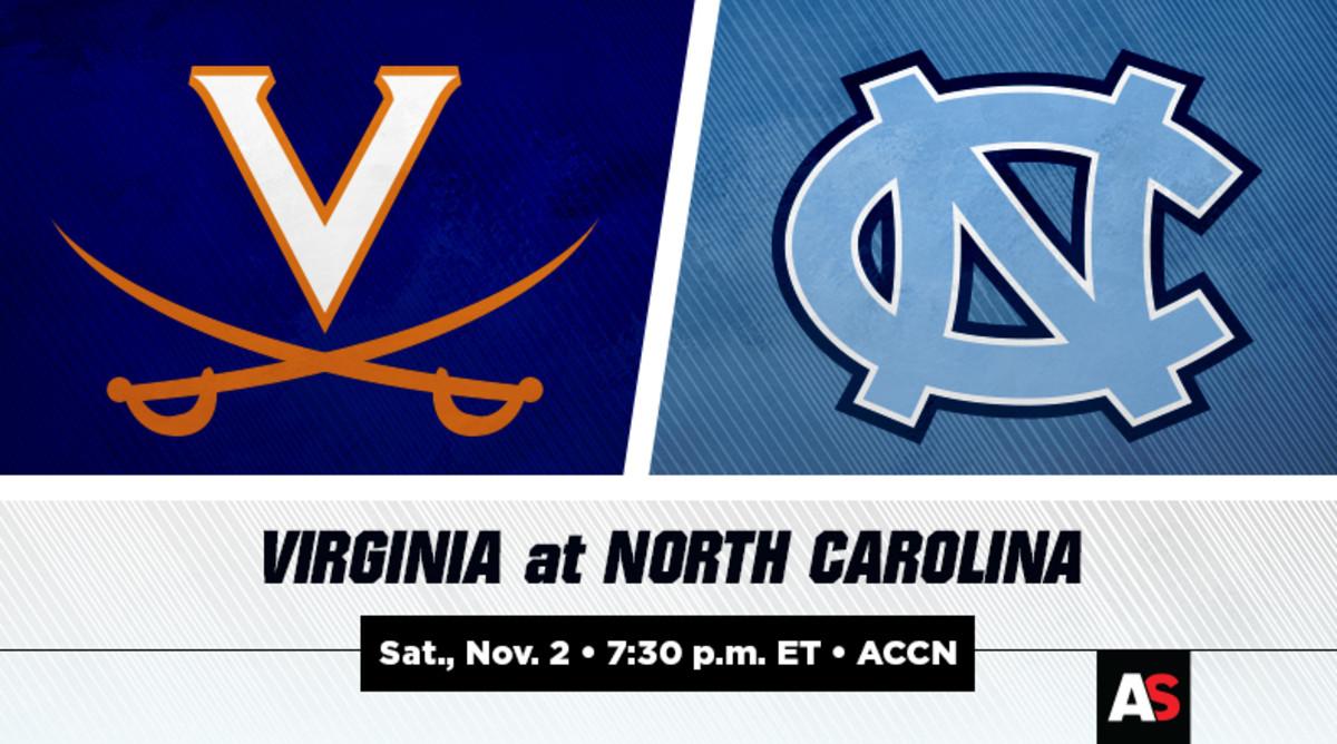 Virginia vs. North Carolina Football Prediction and Preview