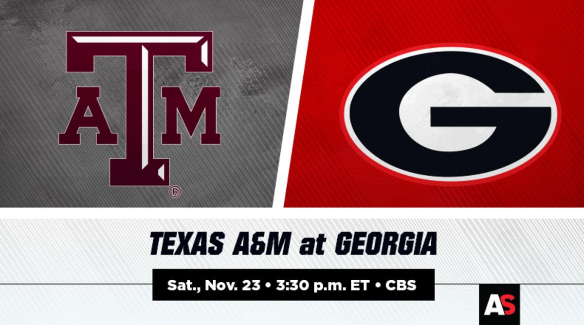 Texas A&M vs. Georgia Football Prediction and Preview