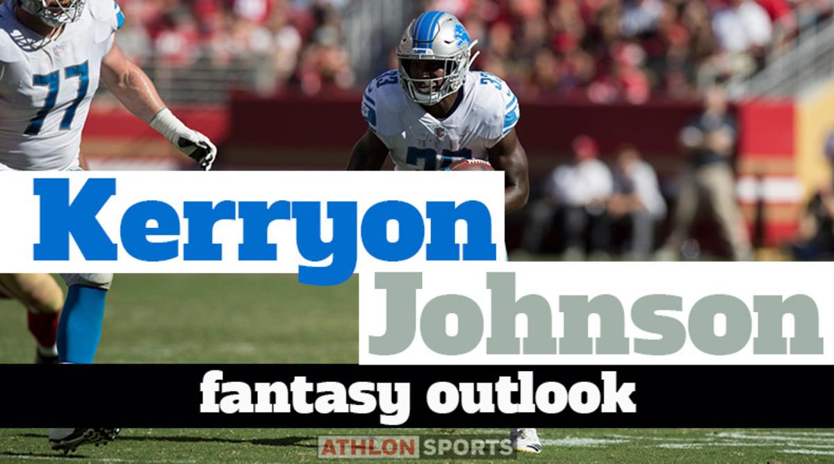 Kerryon Johnson: Fantasy Outlook 2019