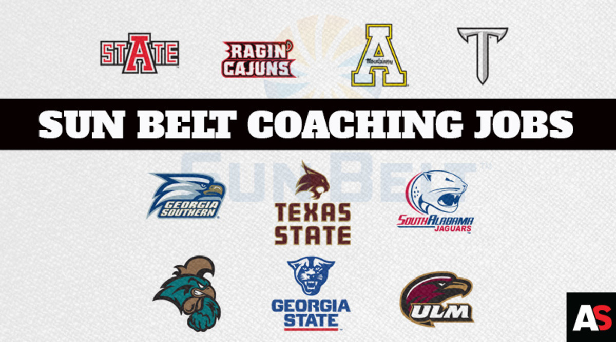 Ranking the Sun Belt Conference College Football Coaching Jobs