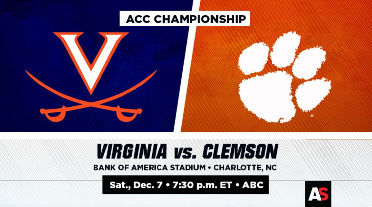 ACC Championship Prediction and Preview: Virginia vs. Clemson