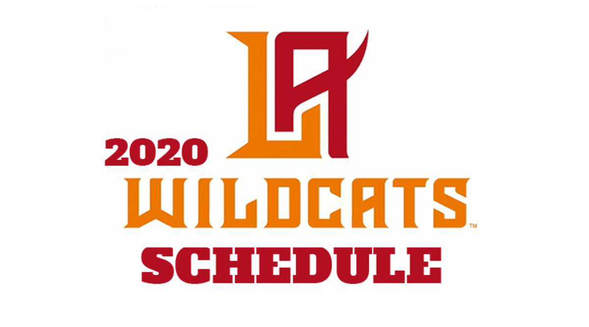 Los Angeles Wildcats 2020 Schedule (XFL Football)