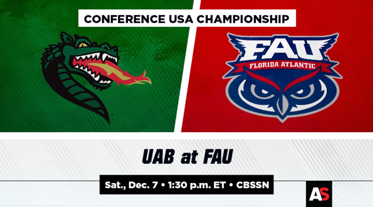 Conference USA Championship Prediction and Preview: UAB vs. Florida Atlantic