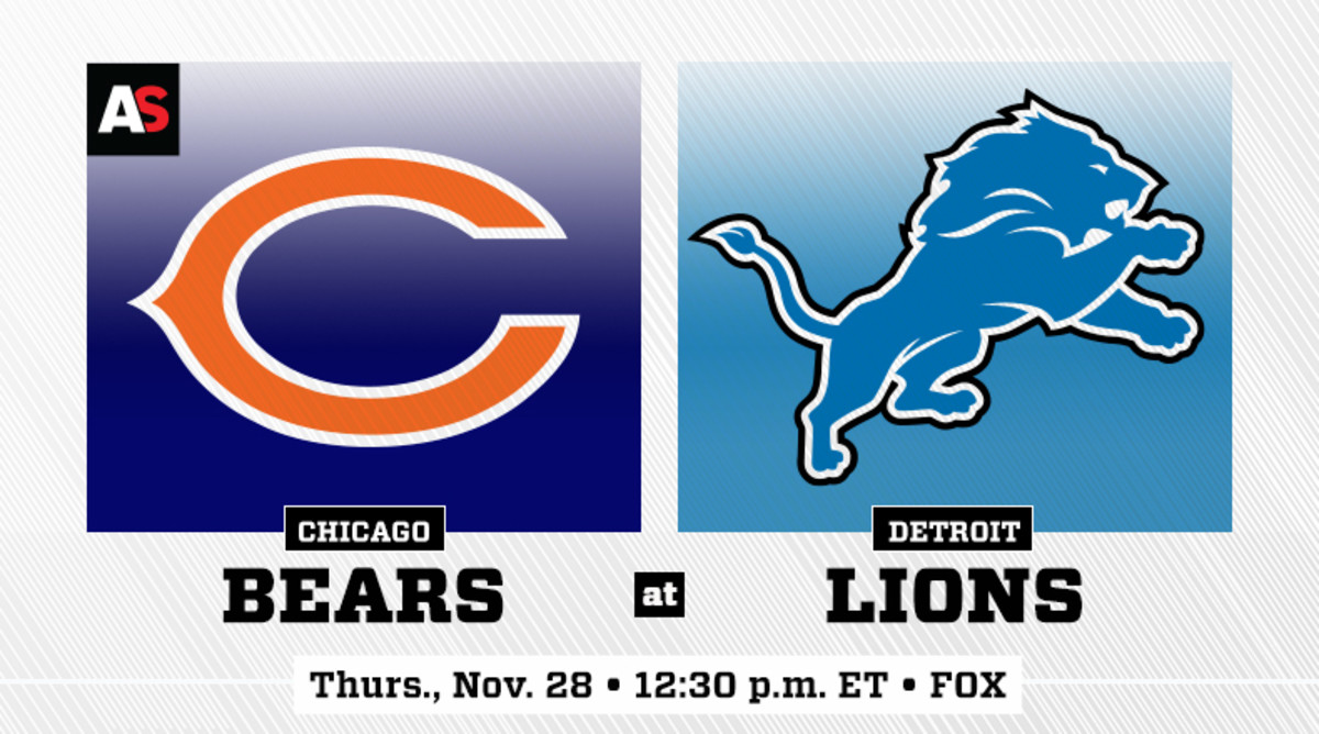Thanksgiving Day: Chicago Bears vs. Detroit Lions Prediction and Preview