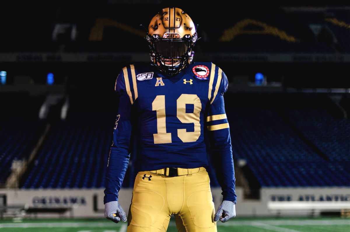 Navy Football: Midshipmen Unveil Throwback Uniforms From 1960s for Army-Navy Game