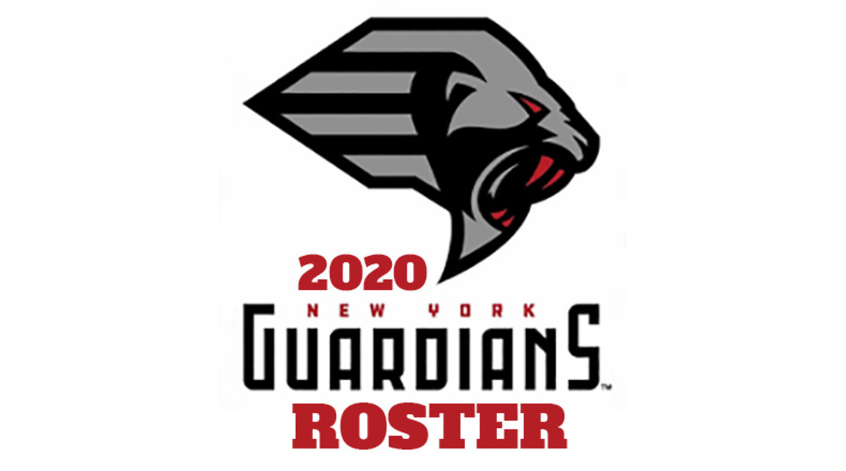 New York Guardians 2020 Roster (XFL Football)
