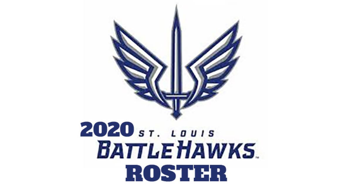 St. Louis BattleHawks 2020 Roster (XFL Football)