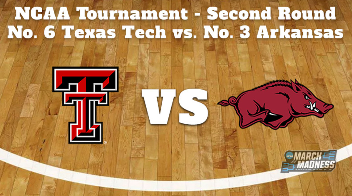 Texas Tech Red Raiders vs. Arkansas Razorbacks Prediction: NCAA Tournament Second Round Preview