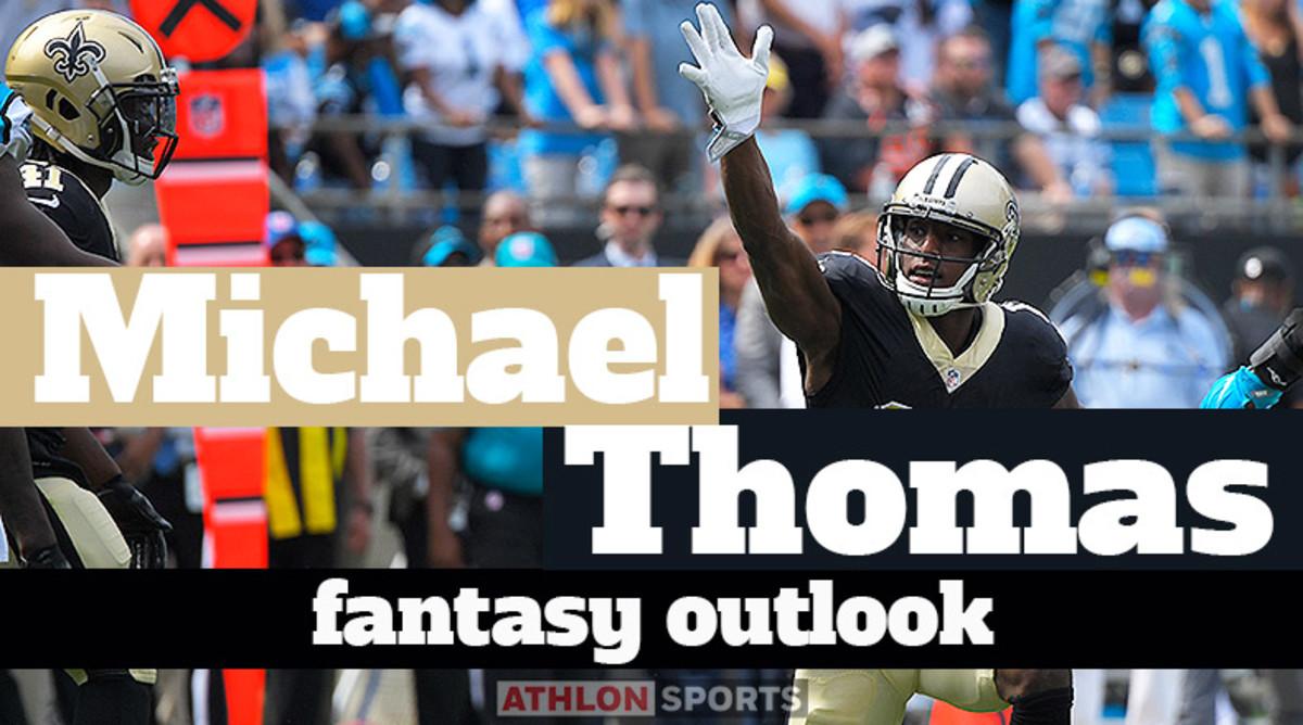 Michael Thomas: Fantasy Outlook 2020