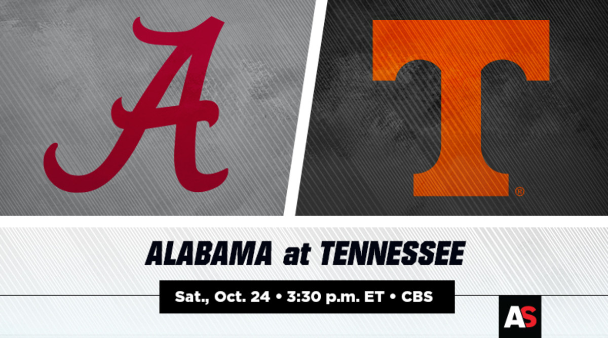 Alabama vs. Tennessee Football Prediction and Preview