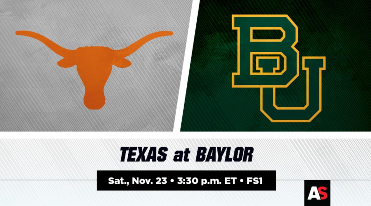 Texas vs. Baylor Football Prediction and Preview