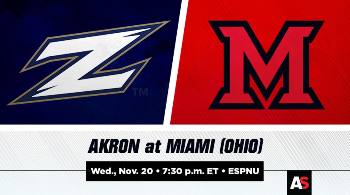Akron vs. Miami (Ohio) Football Prediction and Preview