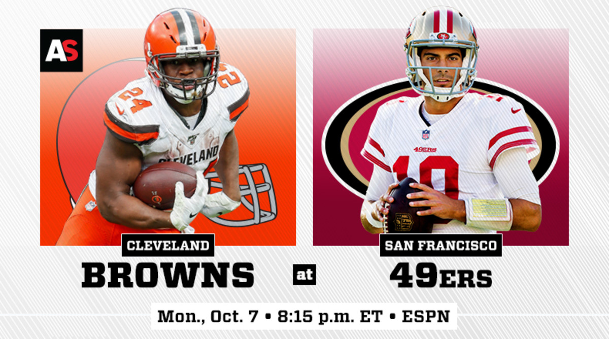 Monday Night Football: Cleveland Browns vs. San Francisco 49ers Prediction and Preview