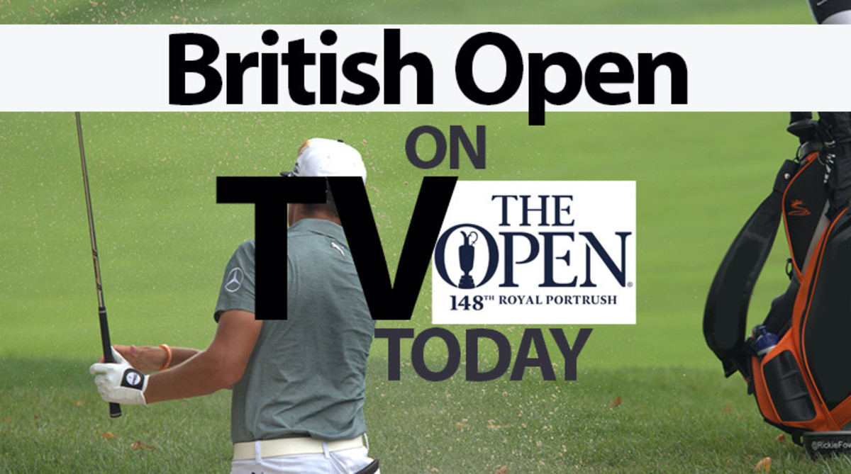 2019 British Open TV Schedule Today streaming (Sunday)
