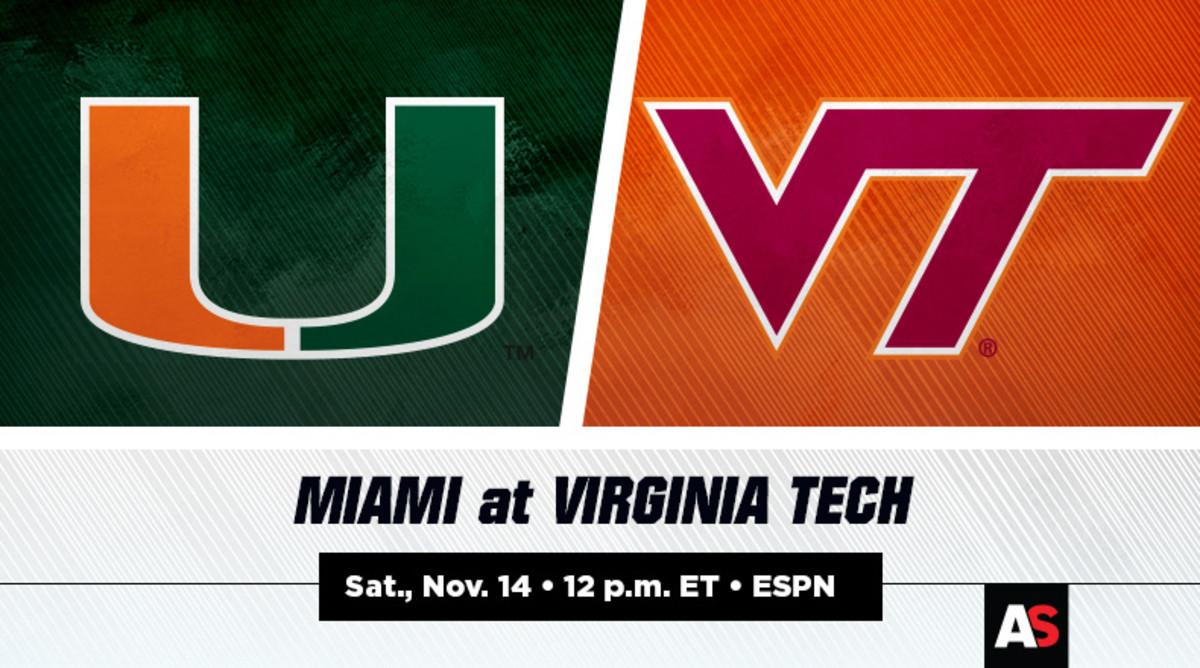 Miami vs. Virginia Tech (VT) Football Prediction and Preview
