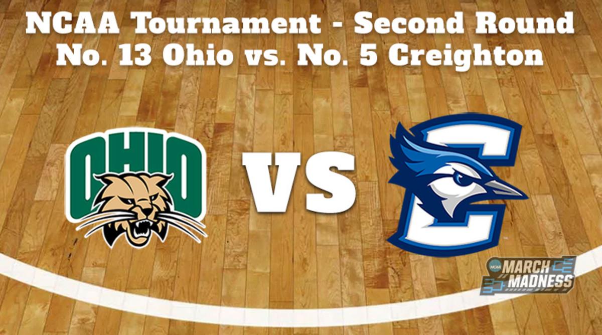Ohio Bobcats vs. Creighton Bluejays Prediction: NCAA Tournament Second Round Preview