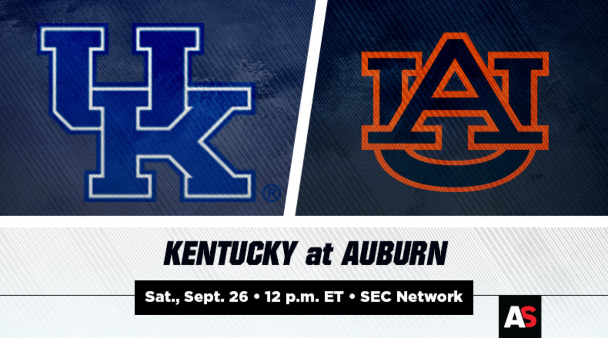 Kentucky vs. Auburn Football Prediction and Preview